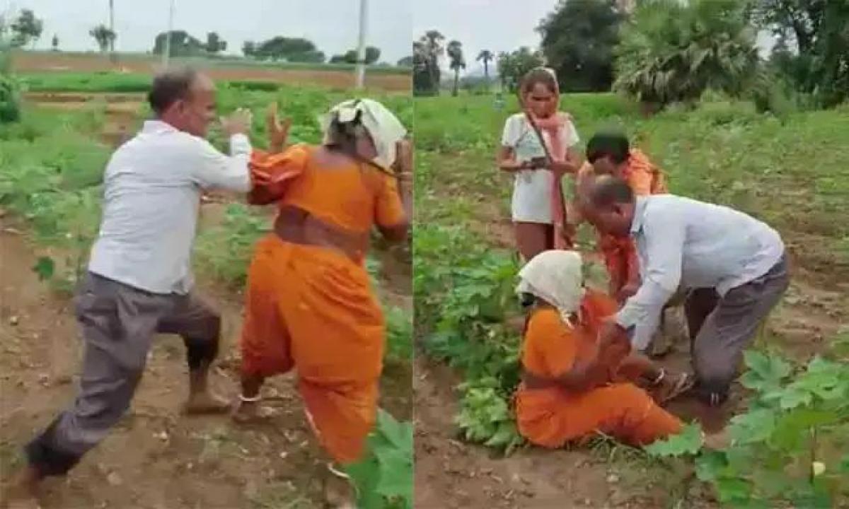 Teacher Attacked His Mother-తన కన్న తల్లిపై దాడి చేసిన ఉపాధ్యాయుడు-Latest News - Telugu-Telugu Tollywood Photo Image-TeluguStop.com