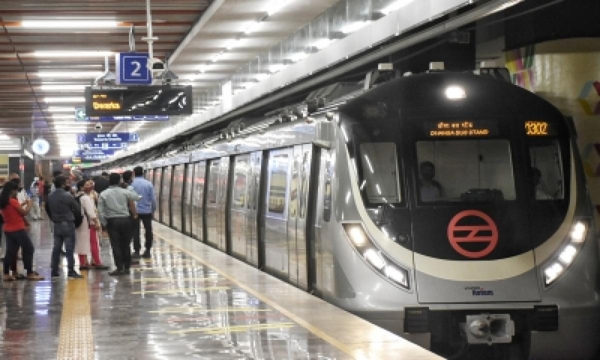 Najafgarh-Dhansa Metro Line Opens For Public-Latest News English-Telugu Tollywood Photo Image-TeluguStop.com