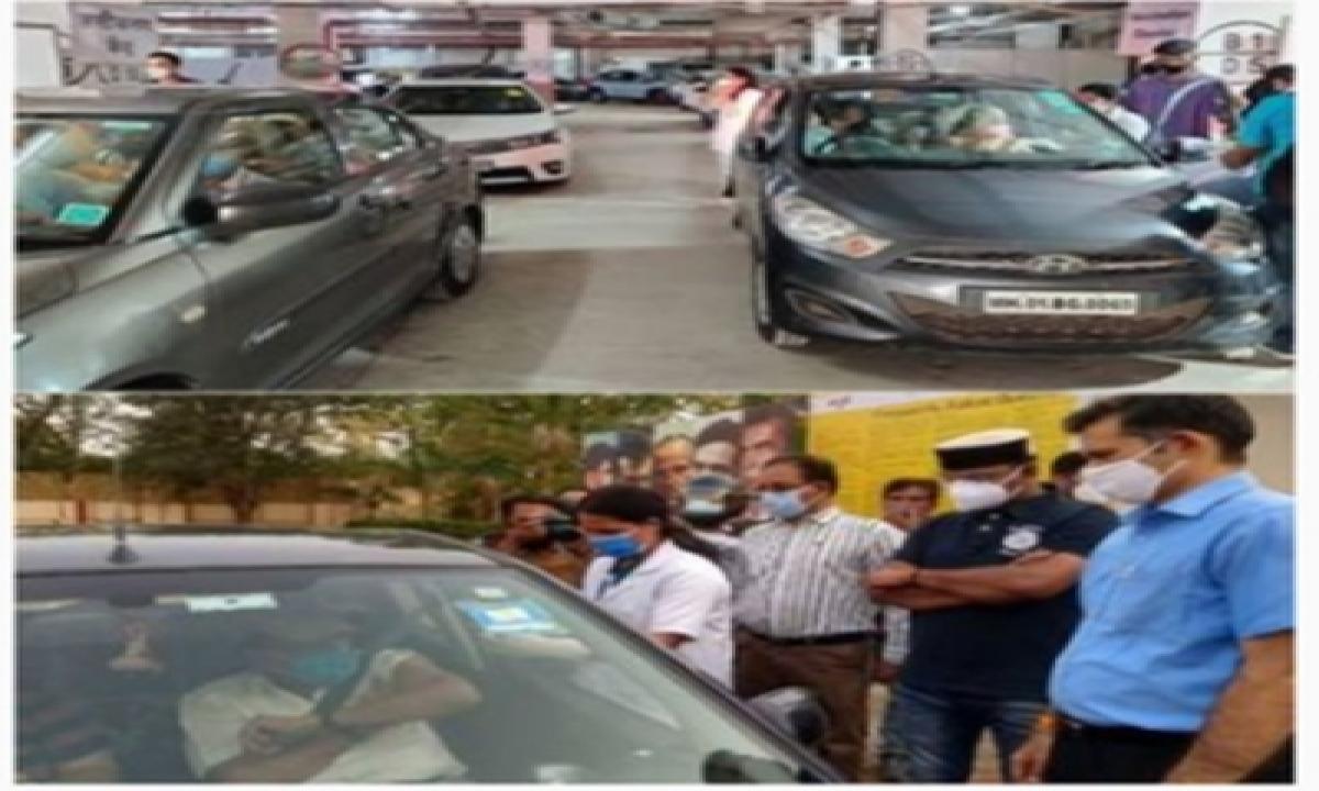 Namrata Shirodkar Lauds Drive-in Vaccination Centres In Mumbai, Bhopal-TeluguStop.com