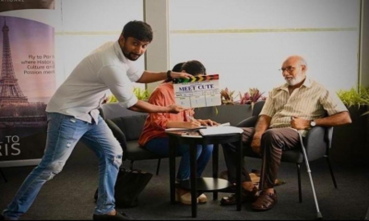 Nani Kickstarts Shoot Of Upcoming Production 'meet Cute'-TeluguStop.com