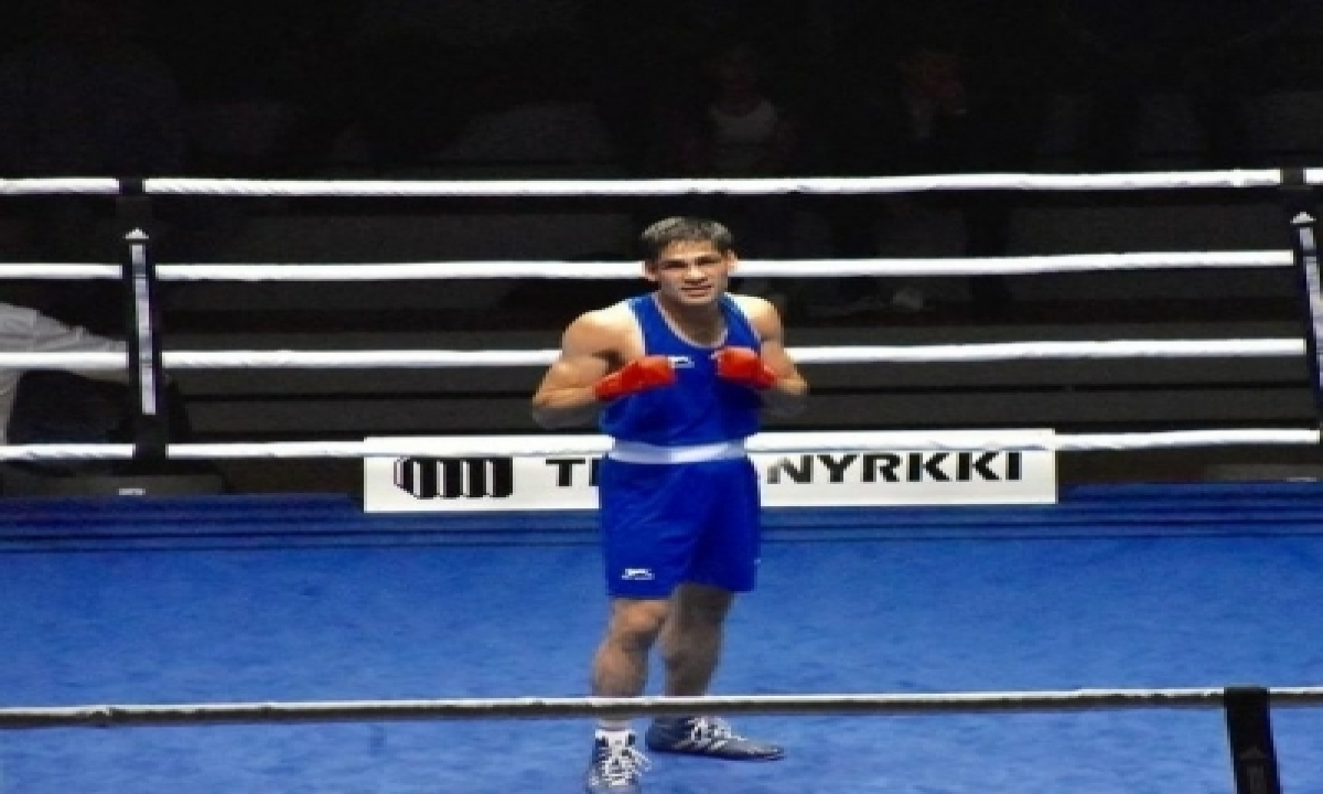 National Boxing: Hussamuddin Sails Into The Quarterfinals On Day 4-TeluguStop.com