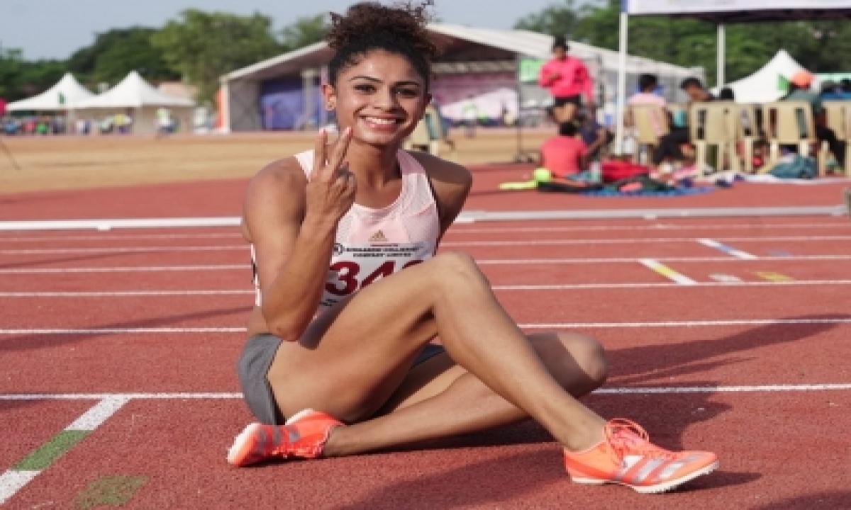 National Open Athletics: Harmilan Kaur Sets National Record In 1500m-TeluguStop.com