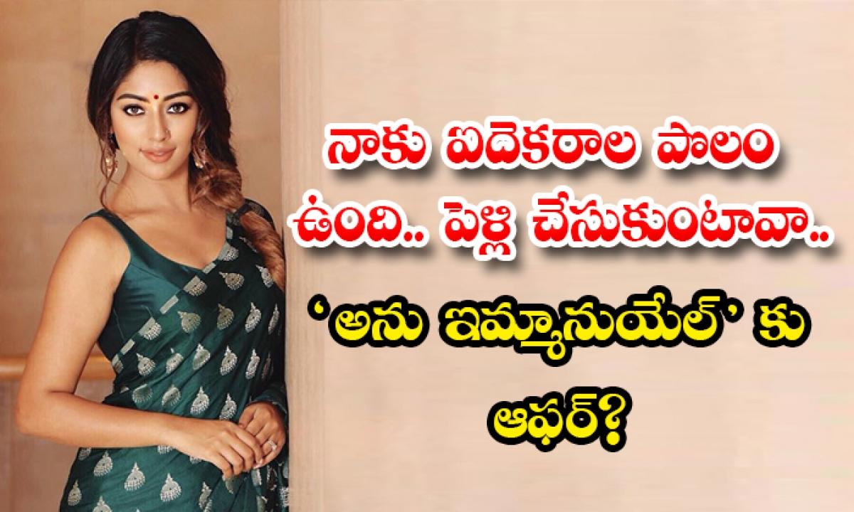 Netizen Offer To Tollywood Heroine Anu Emmanuel For Marriage In Instagram Goes Viral-నాకు ఐదెకరాల పొలం ఉంది.. పెళ్లి చేసుకుంటావా.. అను ఇమ్మానుయేల్'కు ఆఫర్-Latest News - Telugu-Telugu Tollywood Photo Image-TeluguStop.com