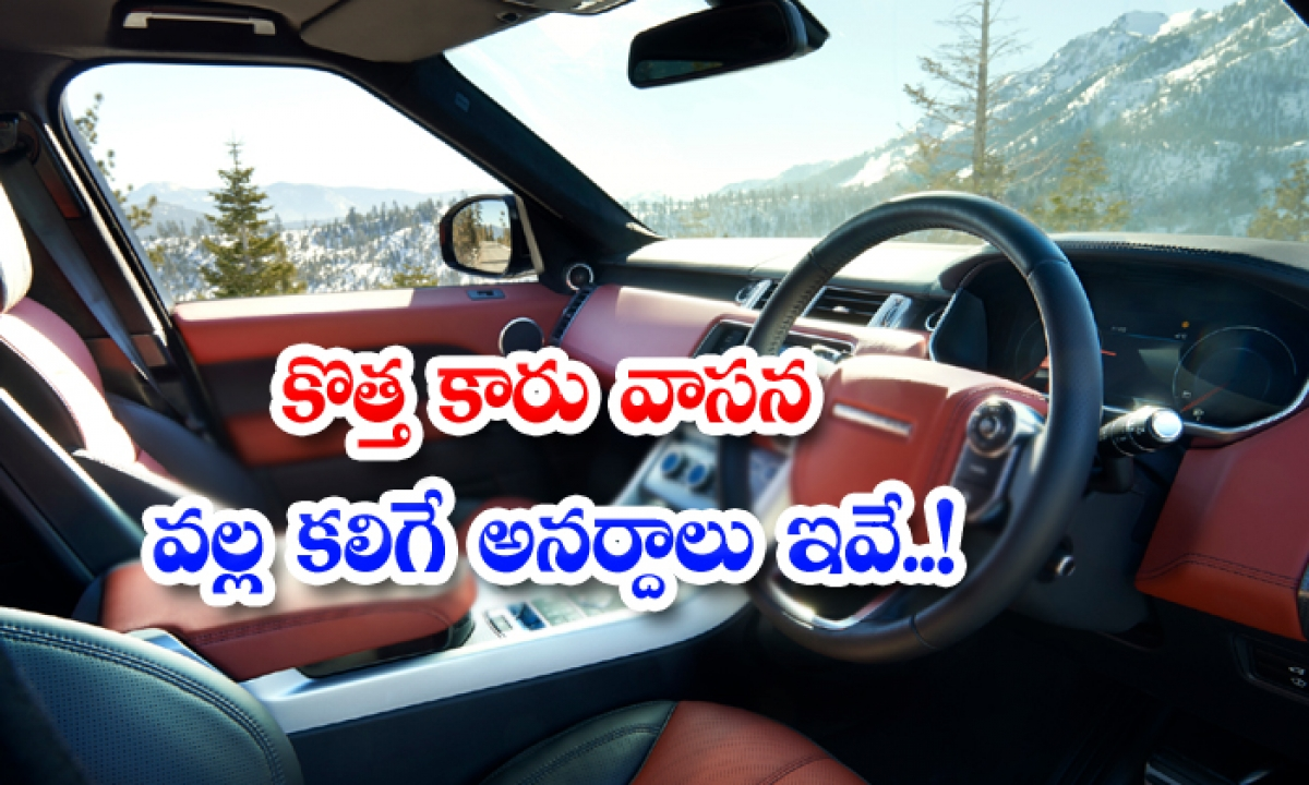 These Are The Disasters Caused By The Smell Of A New Car-కొత్త కారు వాసన వల్ల కలిగే అనర్దాలు ఇవే..-General-Telugu-Telugu Tollywood Photo Image-TeluguStop.com