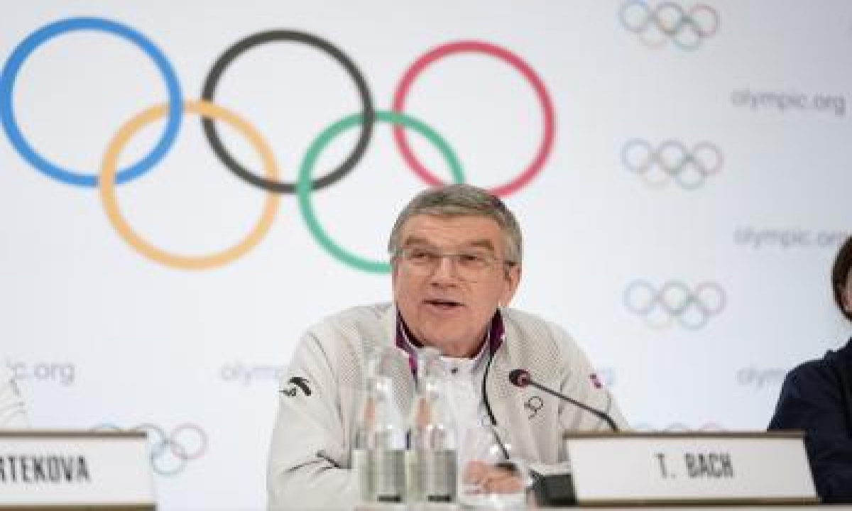TeluguStop.com - No Plan B, Tokyo Olympics On Schedule, Says Ioc Chief Bach
