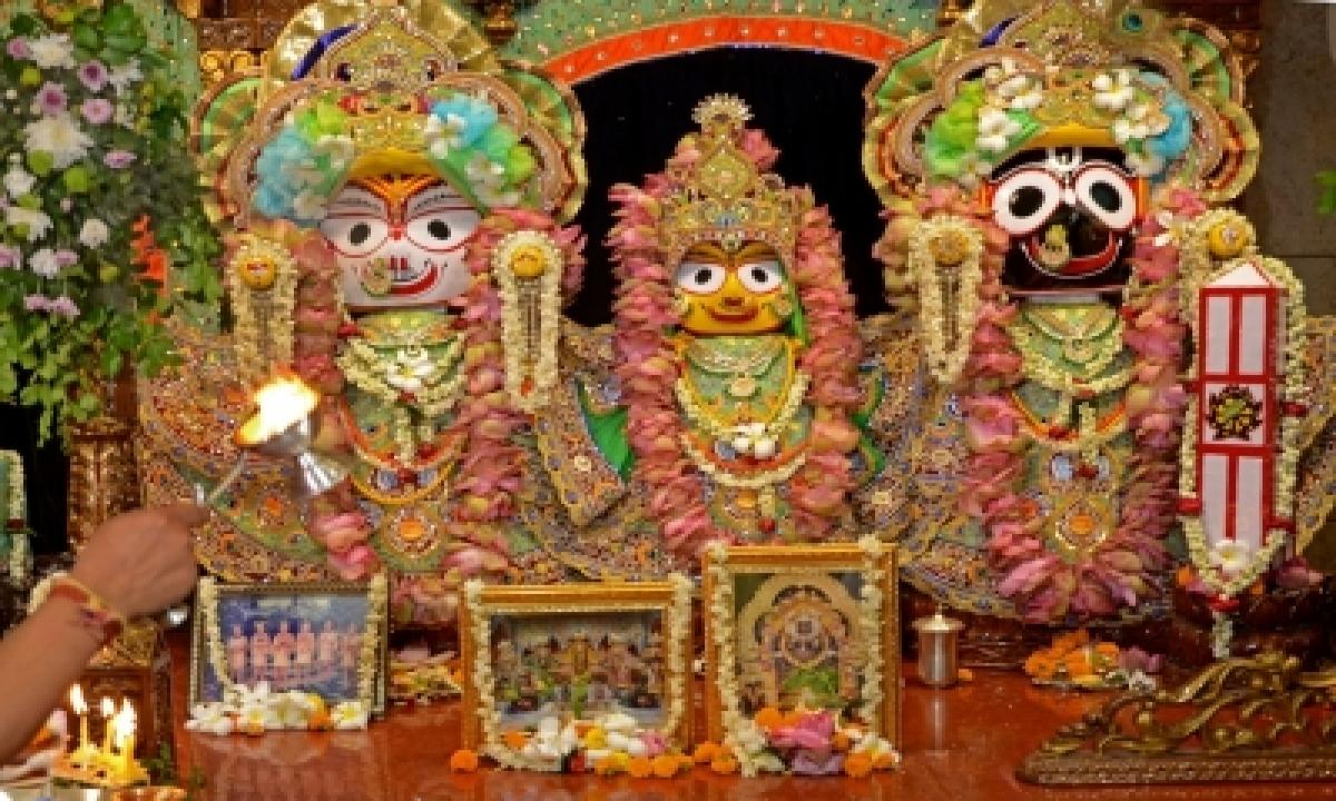 Odisha: Bahuda Yatra Of Lord Jagannath, Deities Completed-TeluguStop.com