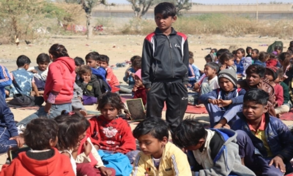 TeluguStop.com - Once Beggars, These Kids Aspire To Join Army Courtesy Cop's School