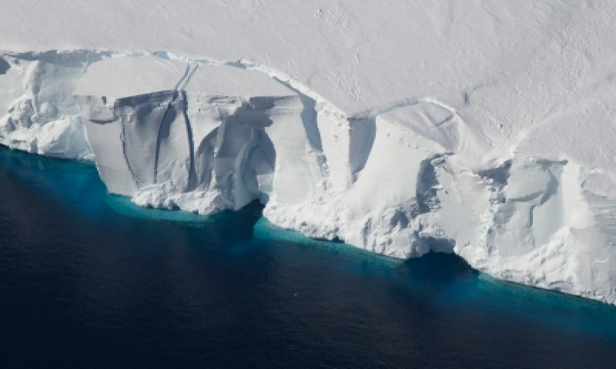 One-third Of Antarctic Ice Shelf Area At Risk Of Collapse: Study-TeluguStop.com