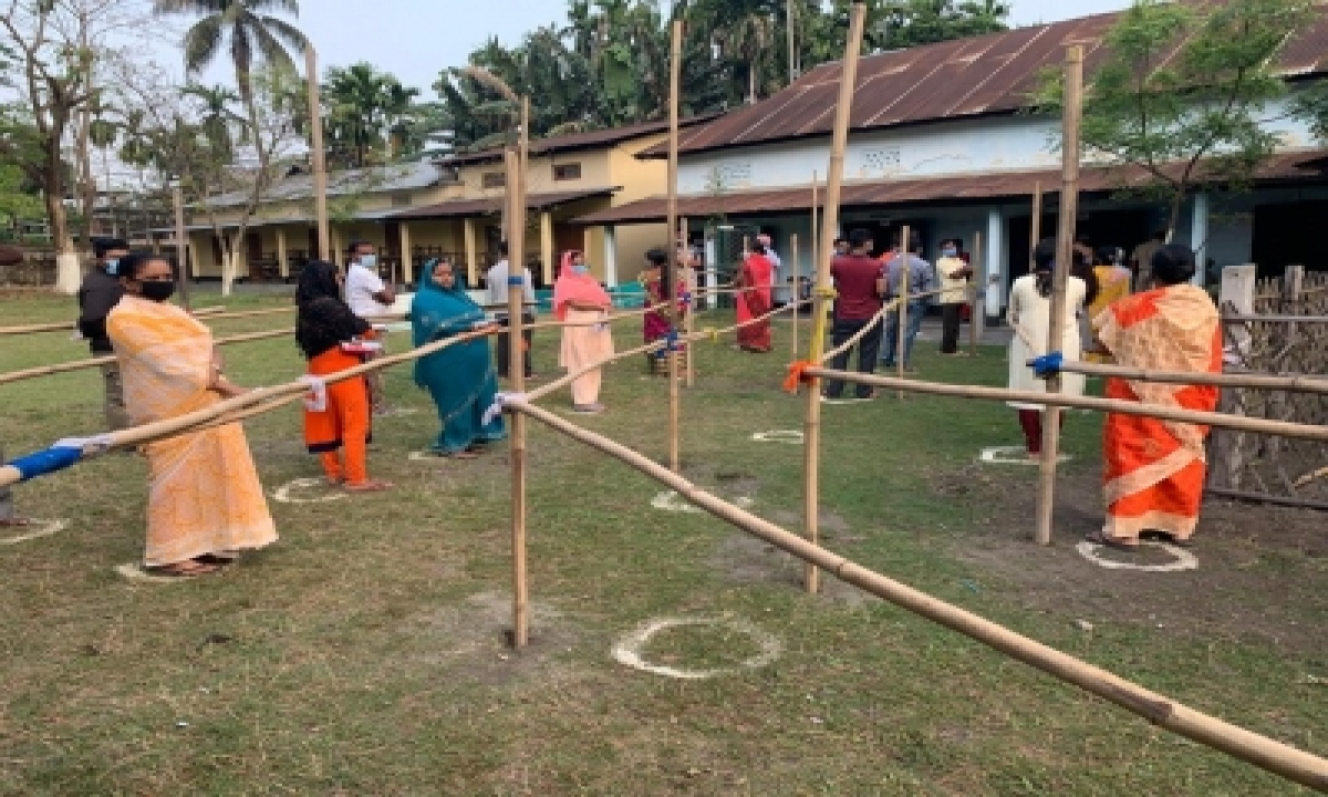 Over 77% Turnout In Assam, Polling Incident-free (night Lead)-TeluguStop.com