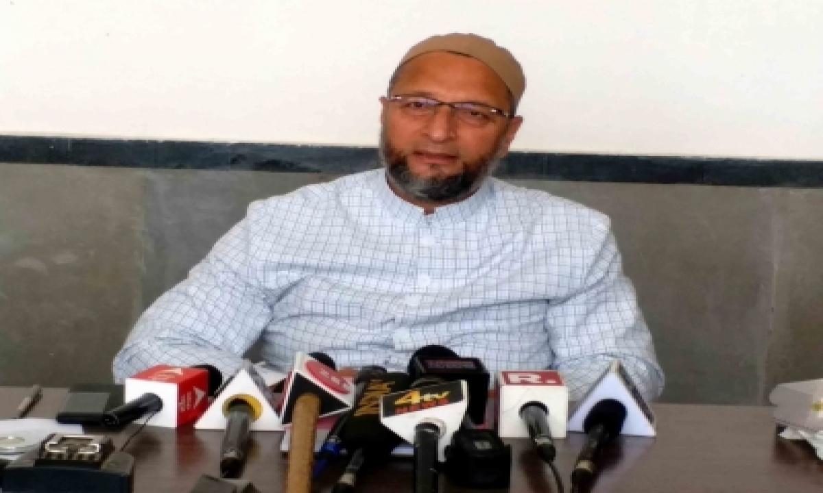 Owaisi Denied Permission To Meet Ex Mp Atiq Ahmad In Guj Jail-TeluguStop.com