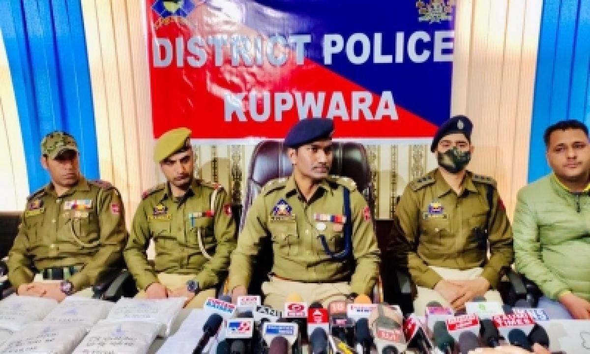Pak Sponsored Narco-terror Module Busted In Kashmir-TeluguStop.com