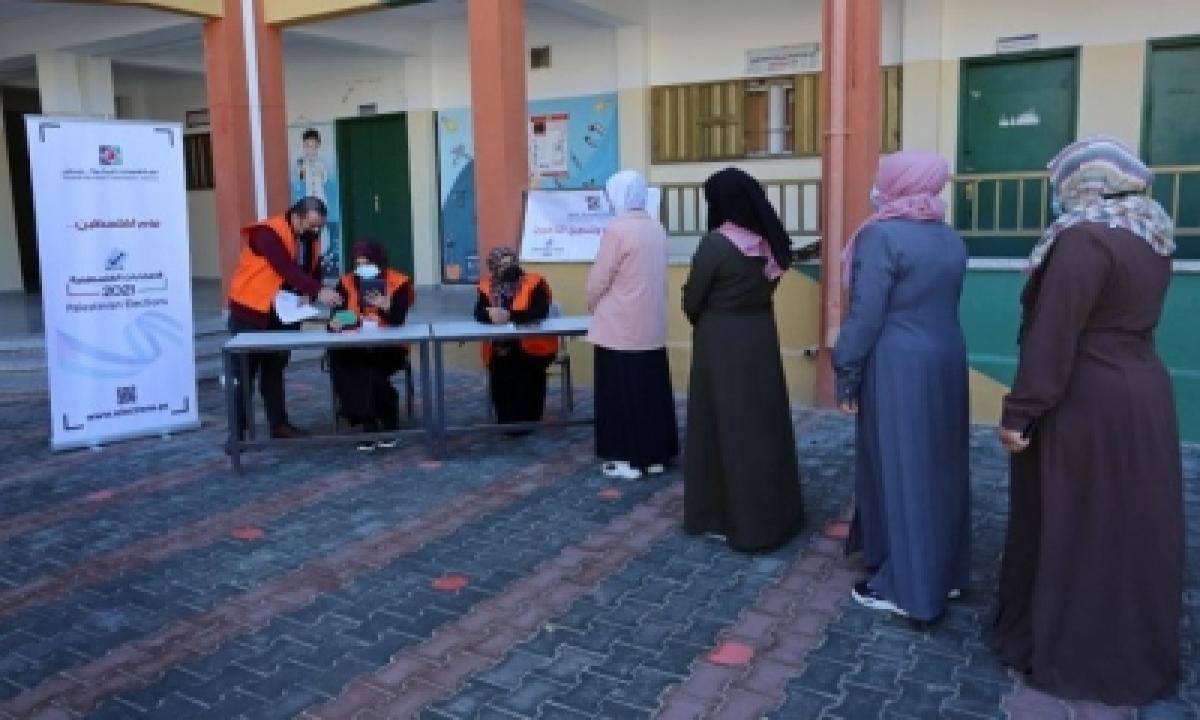 Palestine Urges Pressure On Israel Over Polls In E.jerusalem-TeluguStop.com