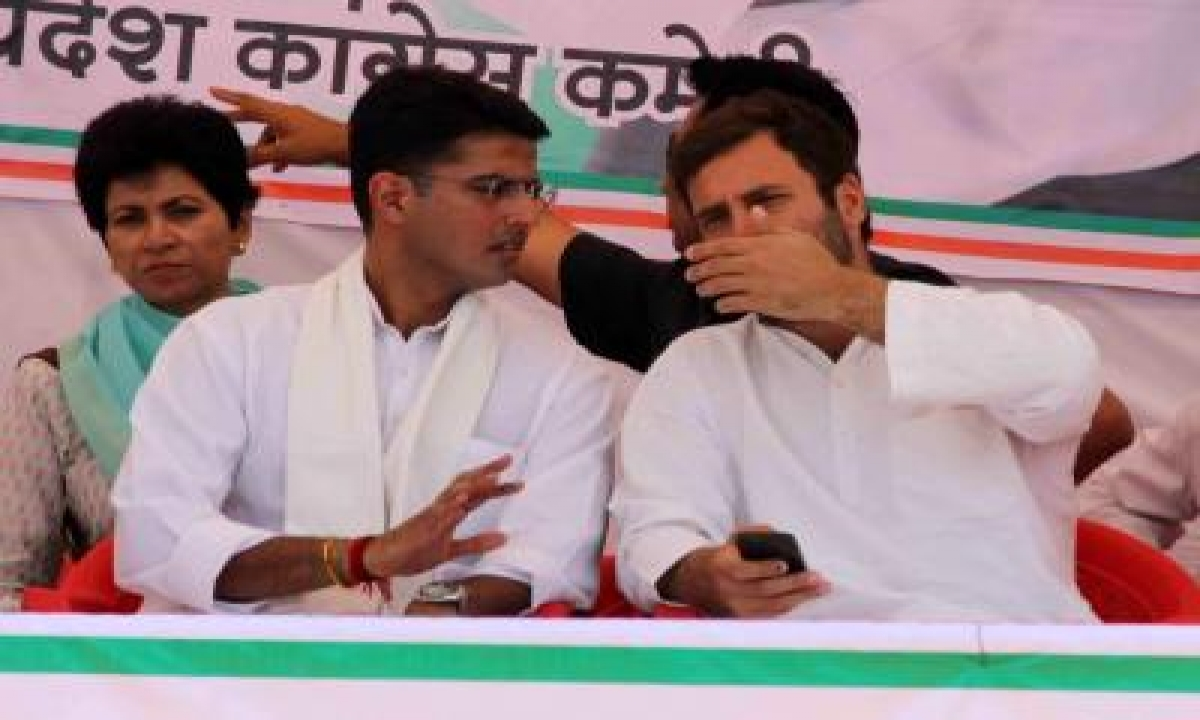 Pilot Meets Rahul Twice In A Week, Bells Of Change Ringing In Rajasthan?-TeluguStop.com
