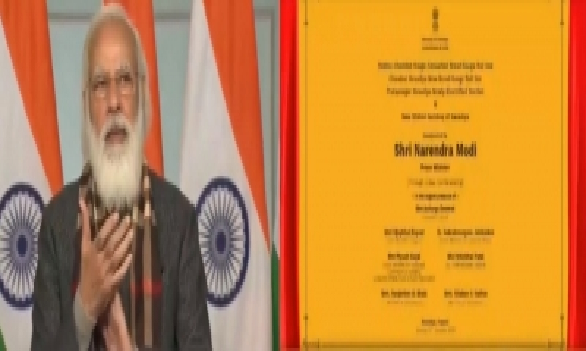 TeluguStop.com - Pm Flags Off 8 Trains To Statue Of Unity In Gujarat (ld)