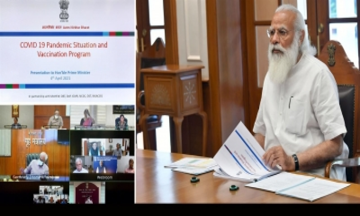 Pm Reviews Covid Situation, Seeks 'mission-mode' Approach In Most-hit States-TeluguStop.com