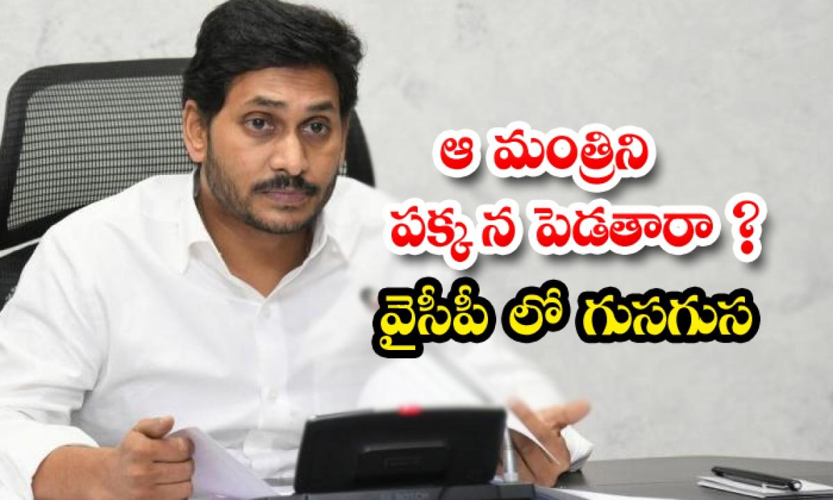 Will That Minister Be Put Aside Whis In Ycp-ఆ మంత్రిని పక్కన పెడతారా వైసీపీలో గుసగుస-Political-Telugu Tollywood Photo Image-TeluguStop.com