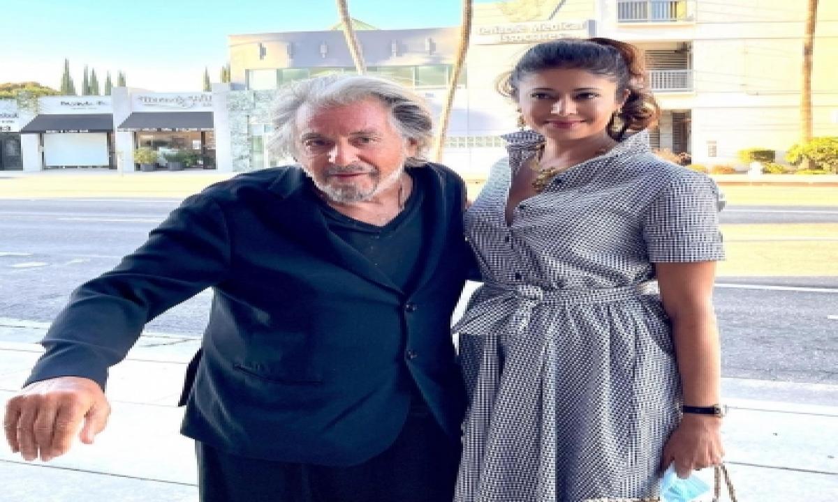 Pooja Batra Shah Meets 'legend' Al Pacino-TeluguStop.com