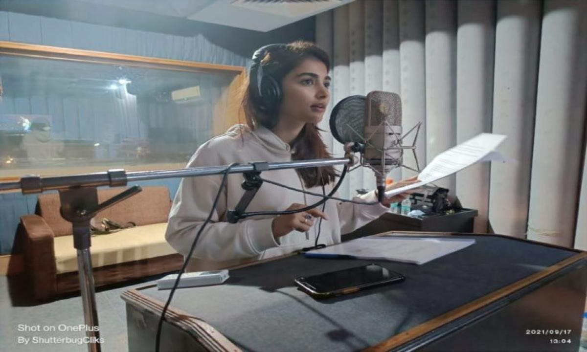 Butta Bomma Pooja Hegde Dedication For Ahil Mek Movie-TeluguStop.com