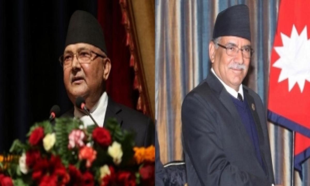 TeluguStop.com - Prachanda Faction Expels Prime Minister Oli From Party