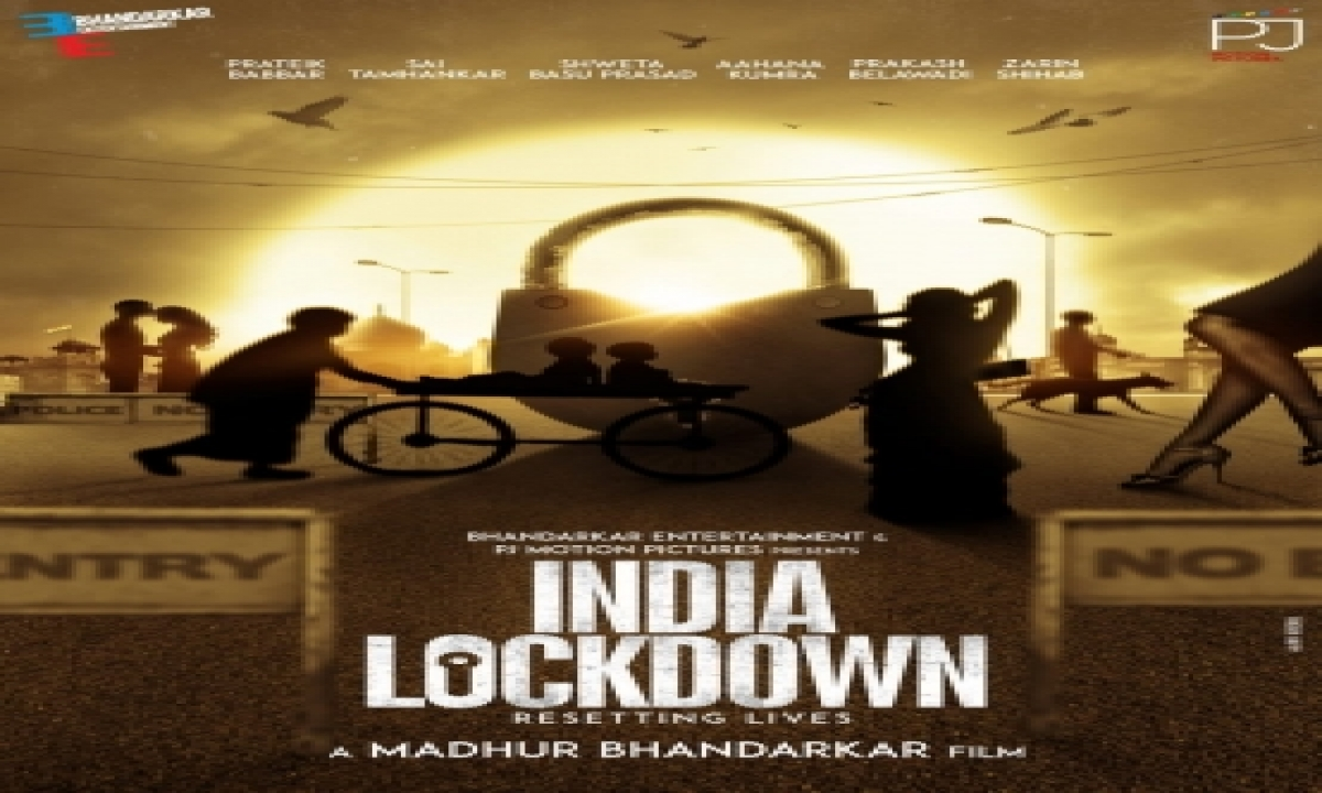 TeluguStop.com - Prateik Babbar, Shweta Basu Prasad In Madhur Bhandarkar's 'india Lockdown'