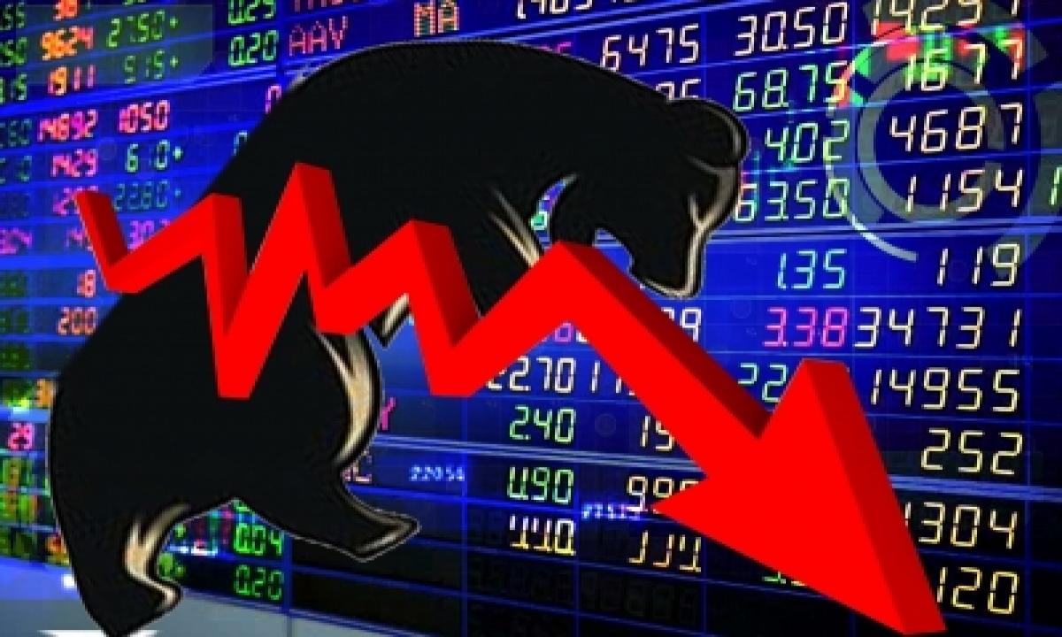 TeluguStop.com - Profit Booking, Global Cues Subdues Market; Banking Stocks Dive (roundup)
