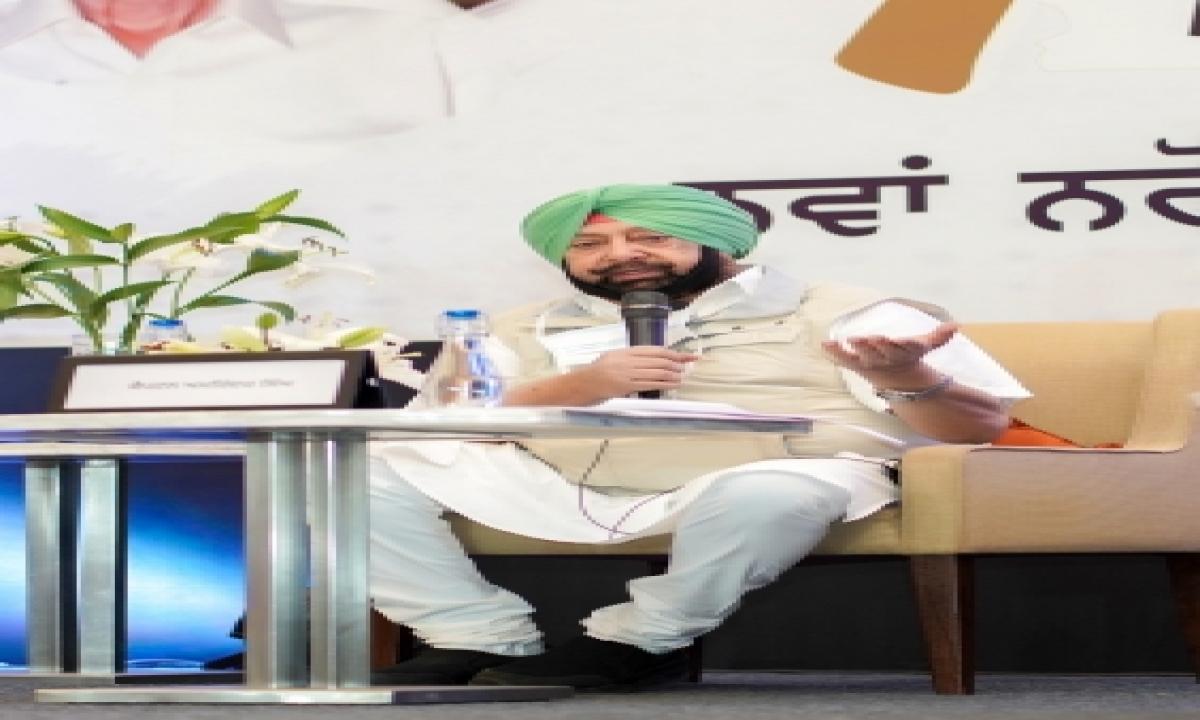 Punjab Cm Gives Proprietary Rights To 3,245 Slum Dwellers-TeluguStop.com