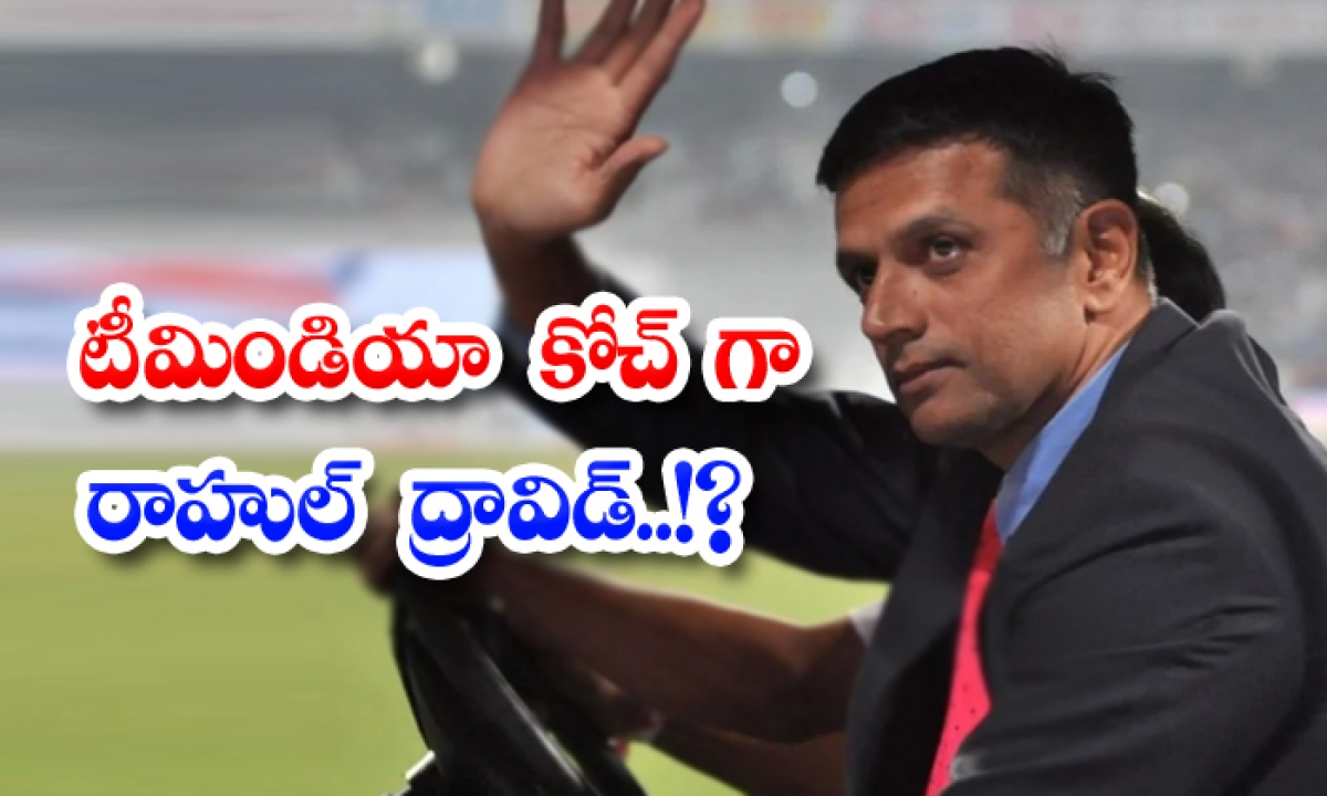 Rahul Dravid As Team India Coach-టీమిండియా కోచ్ గా రాహుల్ ద్రావిడ్..-Latest News - Telugu-Telugu Tollywood Photo Image-TeluguStop.com