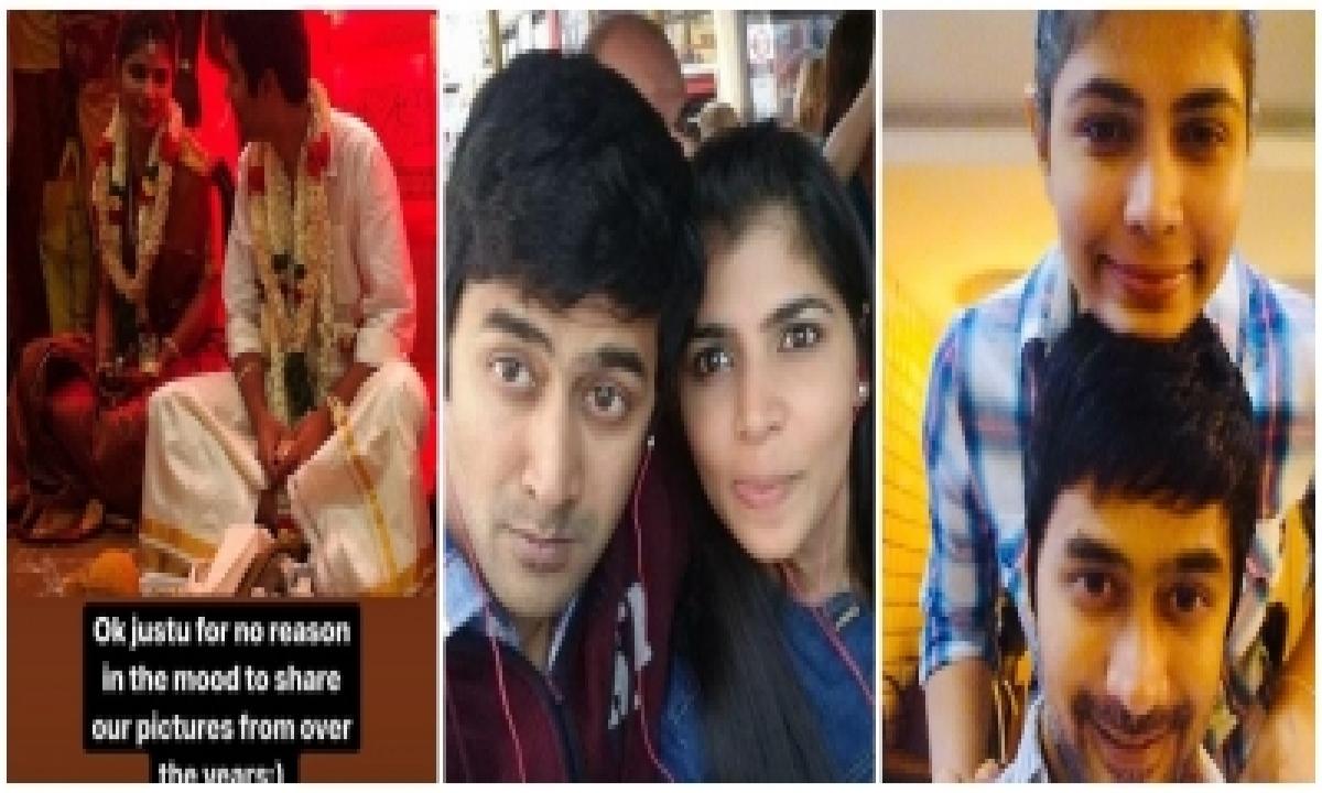 Rahul Ravindran Posts Pics For Wife Chinmayi Sripada 'just For No Reason'-TeluguStop.com