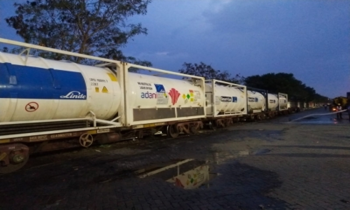 Railways Delivered Over 15K MT Of Liquid Oxygen Across The Country-Business,Health/Medicine,-Telugu Tollywood Photo Image-TeluguStop.com