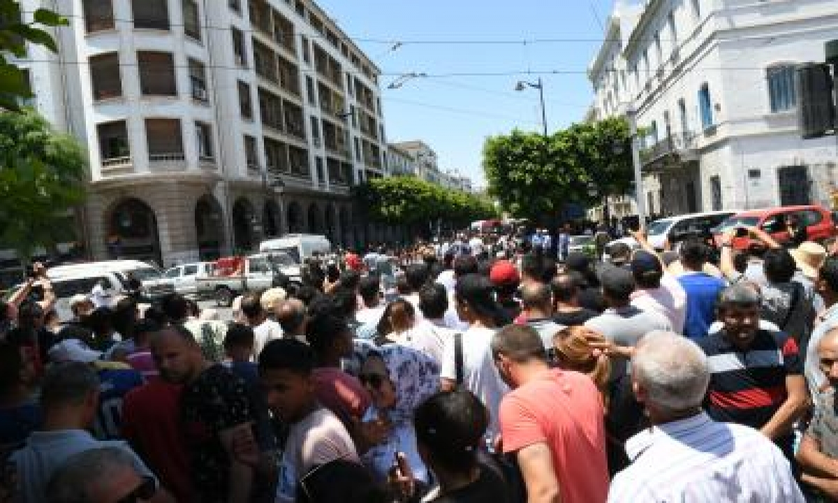 Rally In Tunisia's Capital To Demand Release Of Protesters-TeluguStop.com