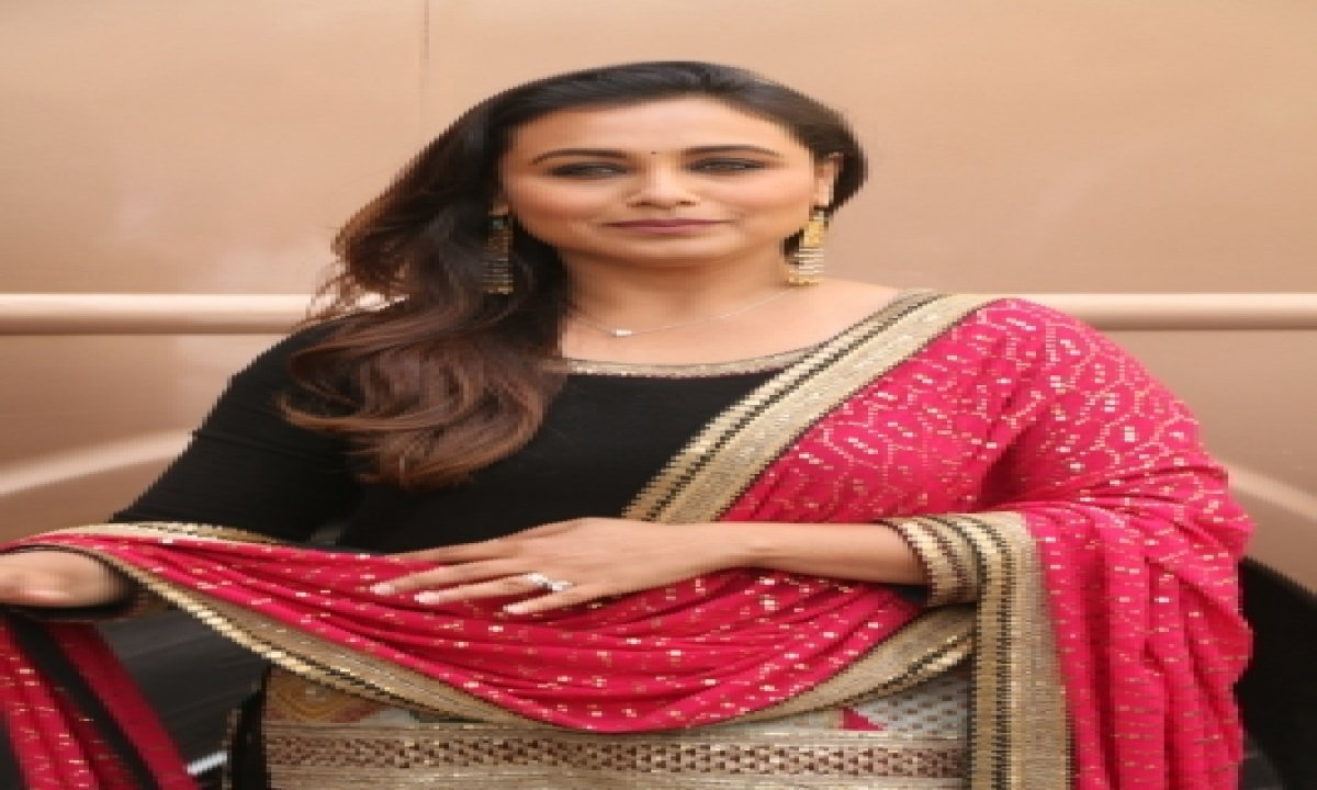 TeluguStop.com - Rani Mukerji: Fortunate To Get Projects That Had Strong Female Protagonists