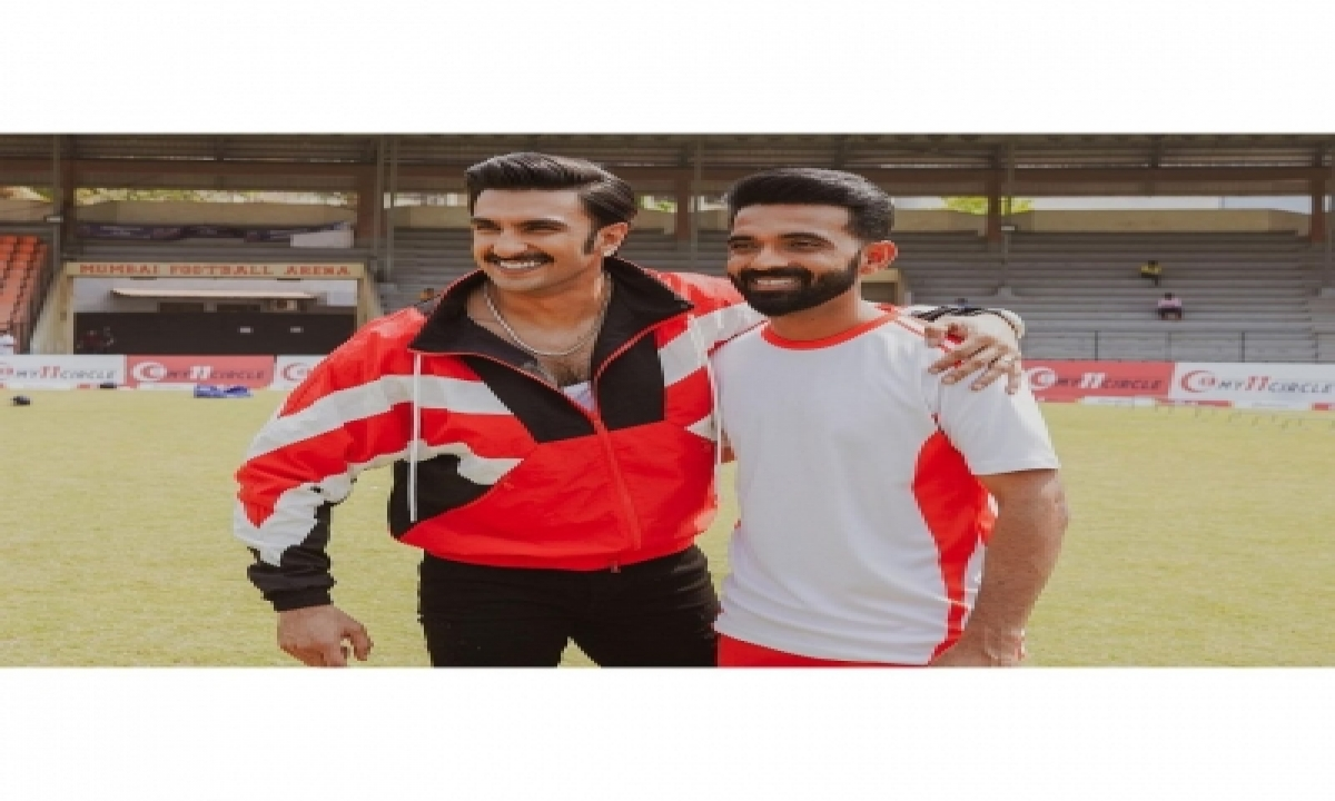 Ranveer Singh Wishes 'champ' Ajinkya Rahane For Ipl 2021-TeluguStop.com