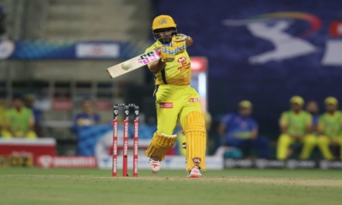 Rayudu's 72 Off 27 Balls Powers Csk To 218/4-TeluguStop.com