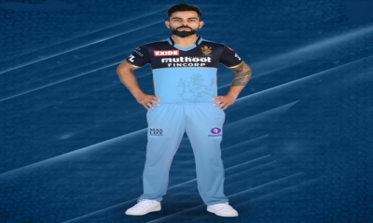Rcb To Wear Blue Jerseys To Support Frontline Covid Warriors On Sept 20-TeluguStop.com