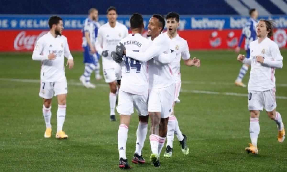 TeluguStop.com - Real Madrid Cruise Past Alaves In Laliga