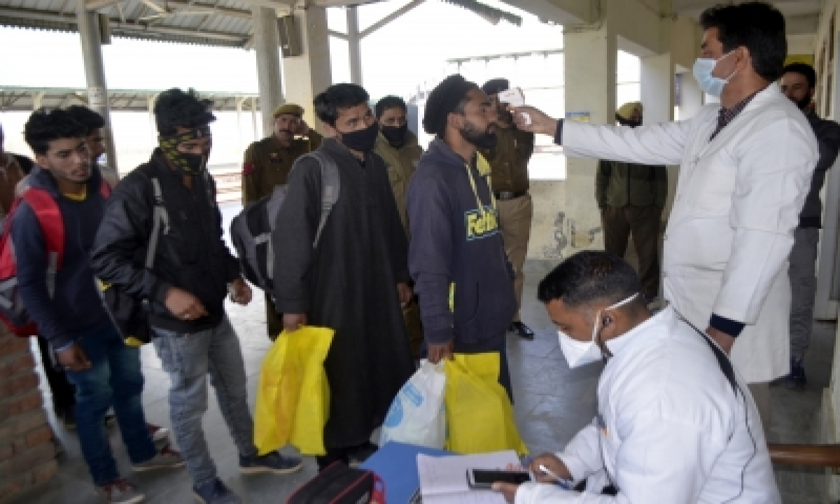 TeluguStop.com - Recoveries Outnumber New Covid Cases In J&k In 24 Hrs