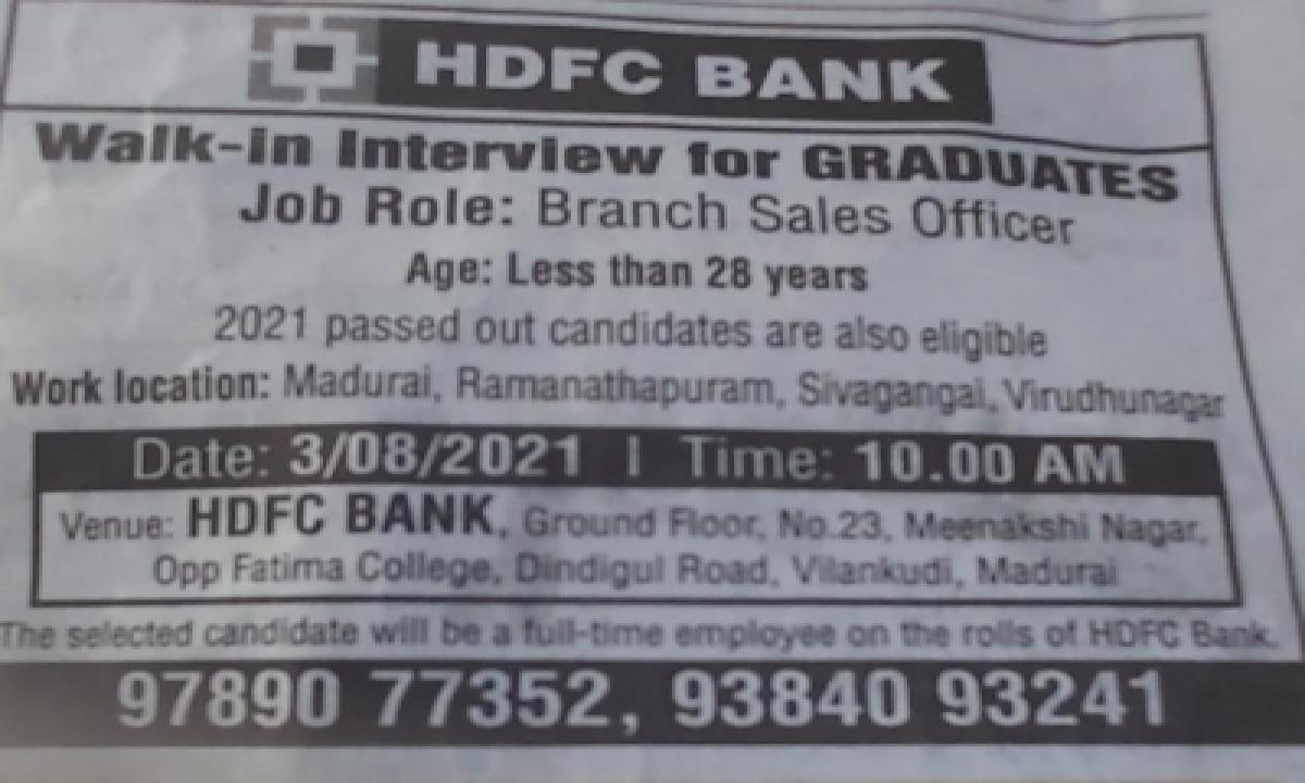 Recruitment Ad That Mimicked Memes Puts Hdfc Bank In A Spot-TeluguStop.com