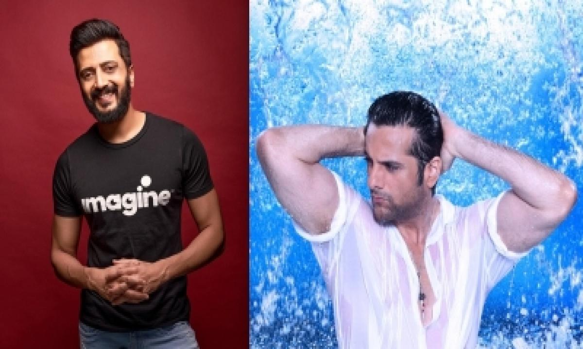 Riteish Deshmukh, Fardeen Khan Team Up For 'visfot'-TeluguStop.com
