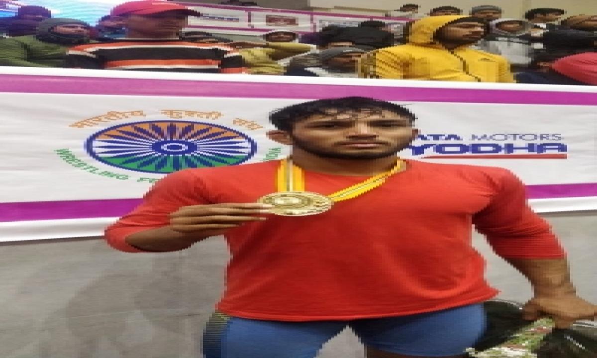 Rohit Wins 65kg Title At Wrestling Nationals-TeluguStop.com