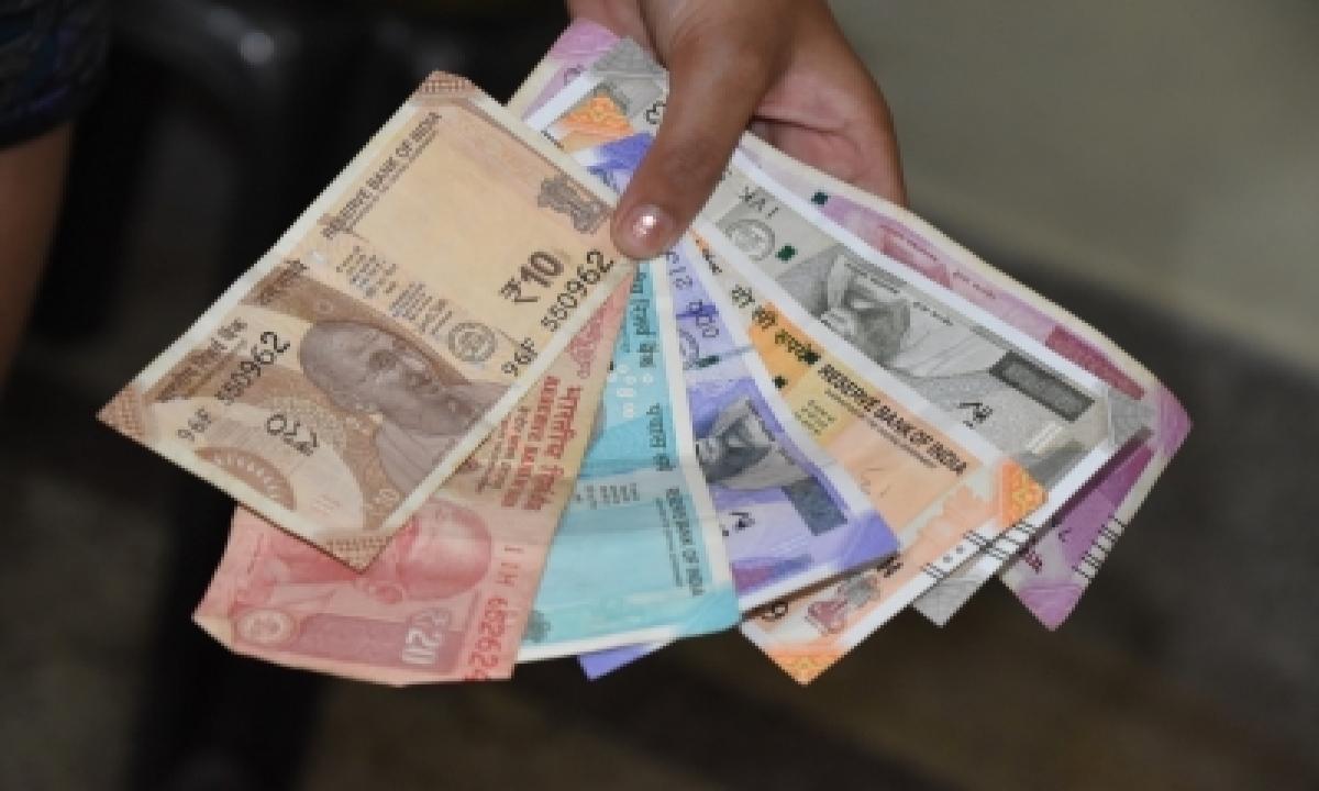 Rupee Drops Below 75/$ Amid Surging Covid Cases-TeluguStop.com