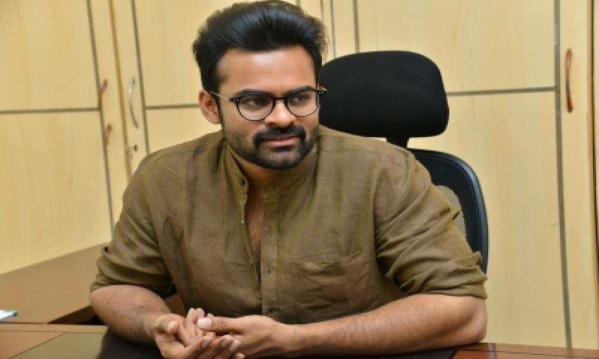 Sai Dharam Tej: 'mask On'-TeluguStop.com