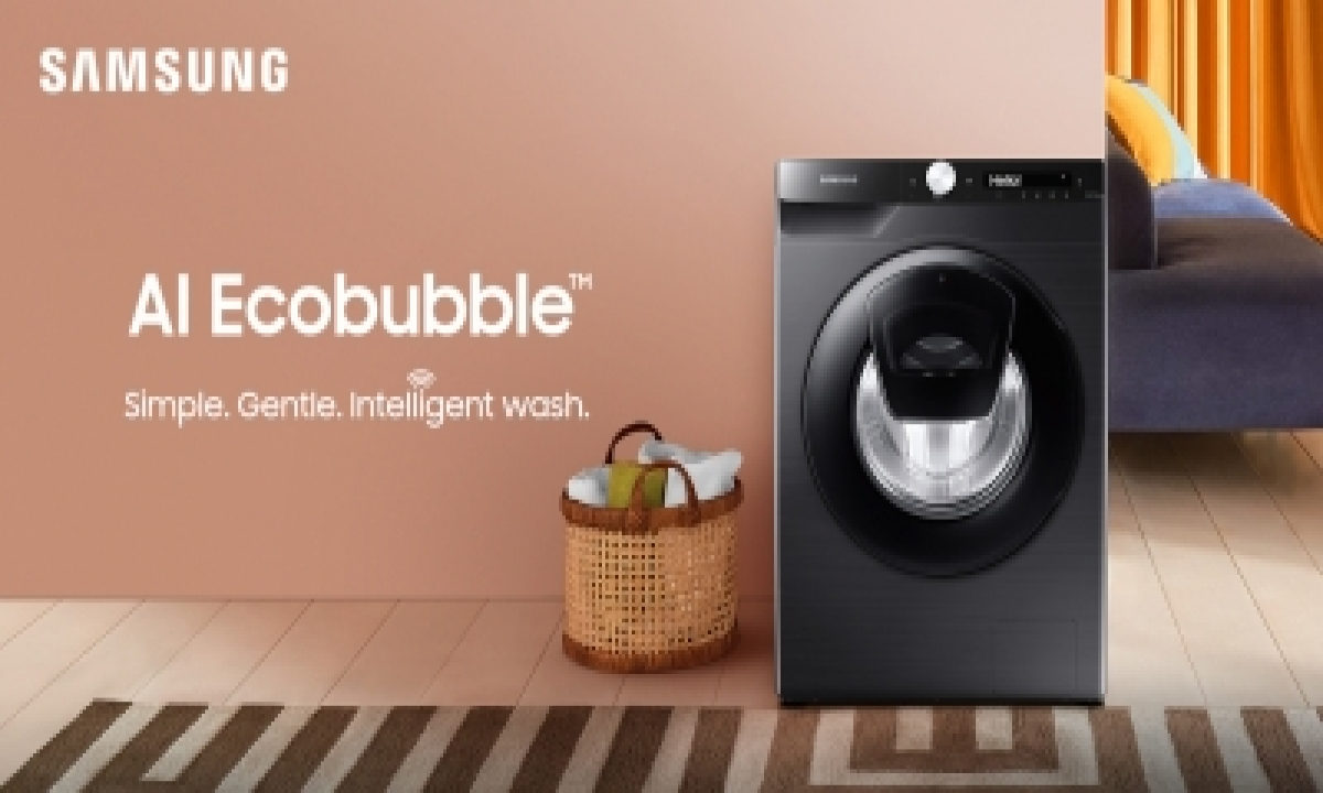 Samsung Powers Remote Laundry Care With Connected Washing Machine-TeluguStop.com