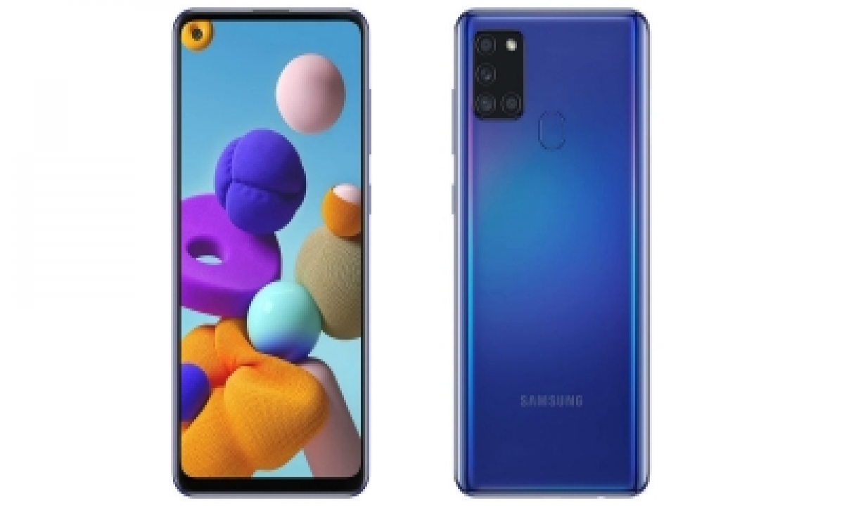 Samsung's 1st Mid-segment 5g Device Galaxy M42 Arriving In India-TeluguStop.com