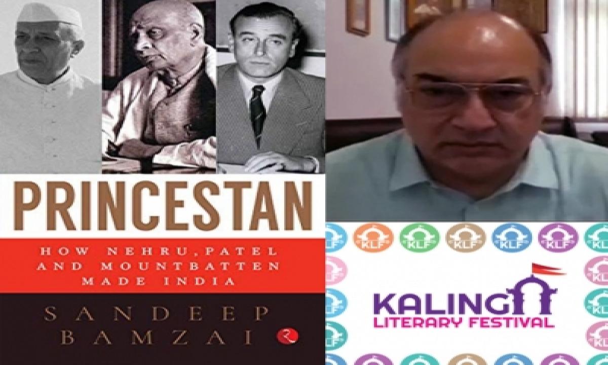 Sandeep Bamzai's Latest Book 'princestan: How Nehru, Patel And Mountbatten Made India' Bags Klf Award-TeluguStop.com