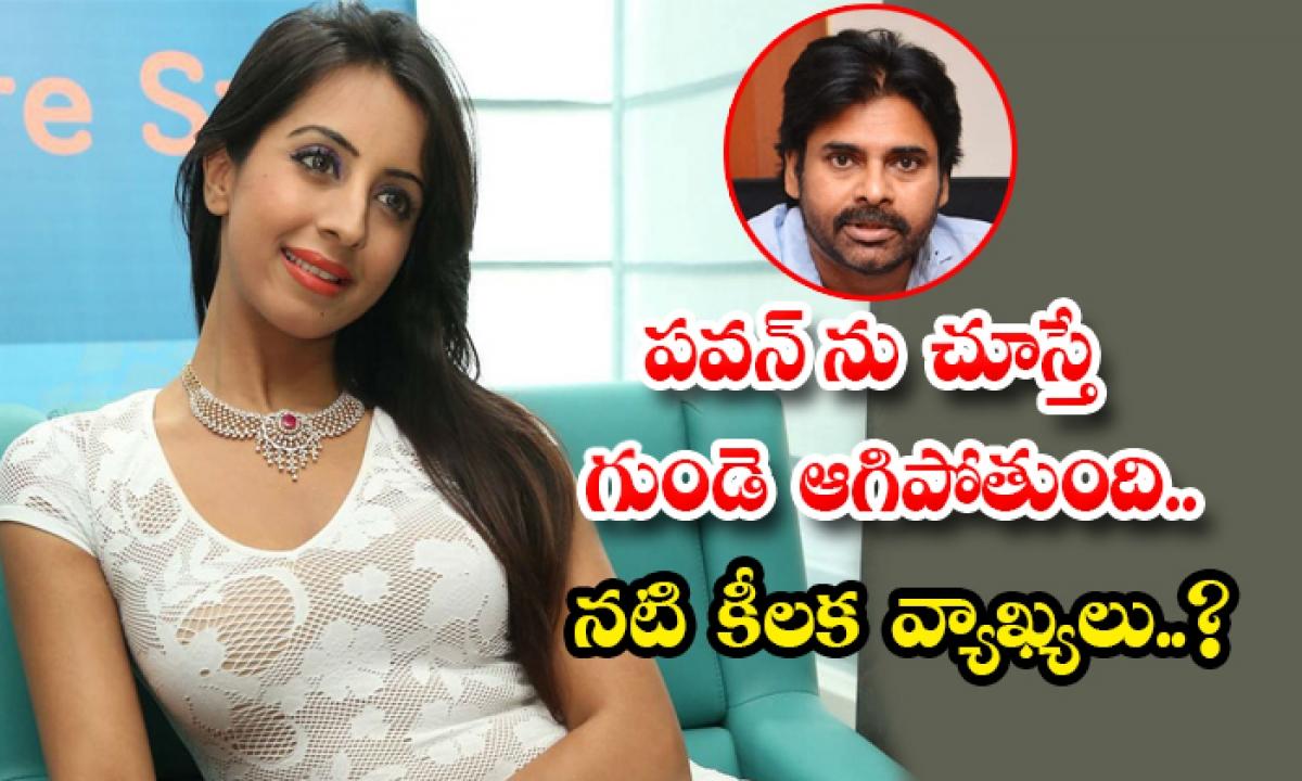 Sanjana Galrani Interesting Comments On Pawan Kalyan-పవన్ ను చూస్తే గుండె ఆగిపోతుంది.. నటి కీలక వ్యాఖ్యలు..-Latest News - Telugu-Telugu Tollywood Photo Image-TeluguStop.com