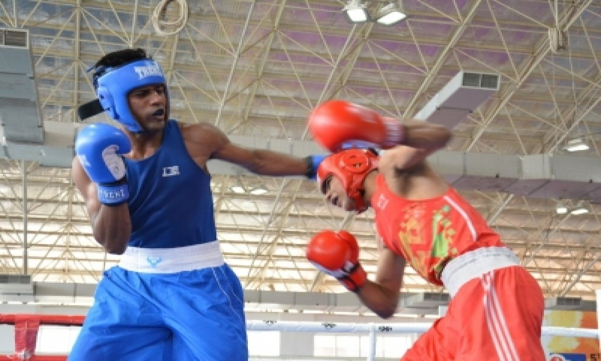 Sanjeet, Shiva Thapa, Hussamuddin In Finals Of Elite Men's National Boxing-TeluguStop.com