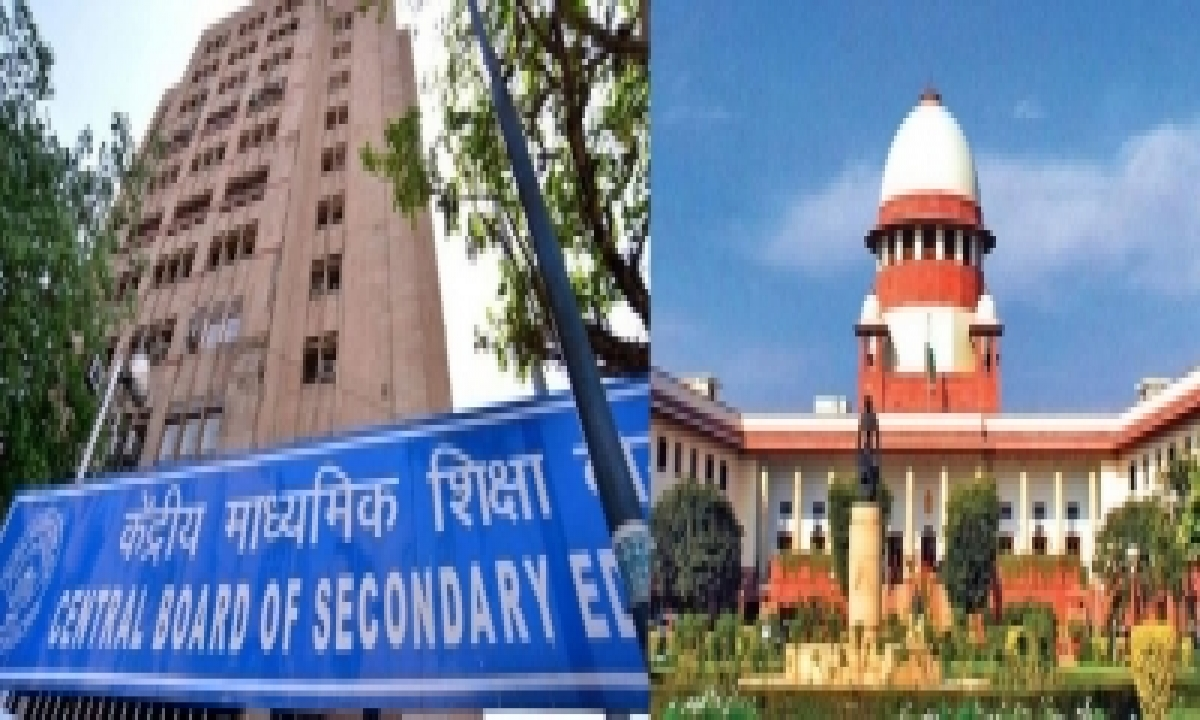 Sc Approves 30:30:40 Cbse Assessment Plan For Class 12, Results By July 31 (ld)-TeluguStop.com