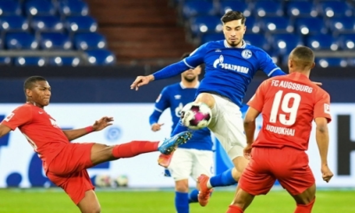 Schalke's Winless Run Ends With 1-0 Win Over Augsburg-TeluguStop.com