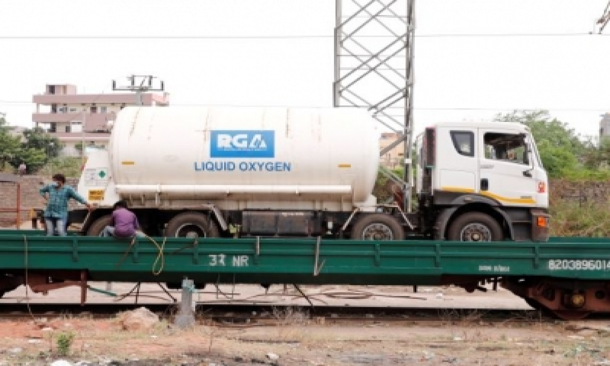 Scr's Oxygen Express Sets Off On Third Run To Bring More Lmo From Odisha-TeluguStop.com