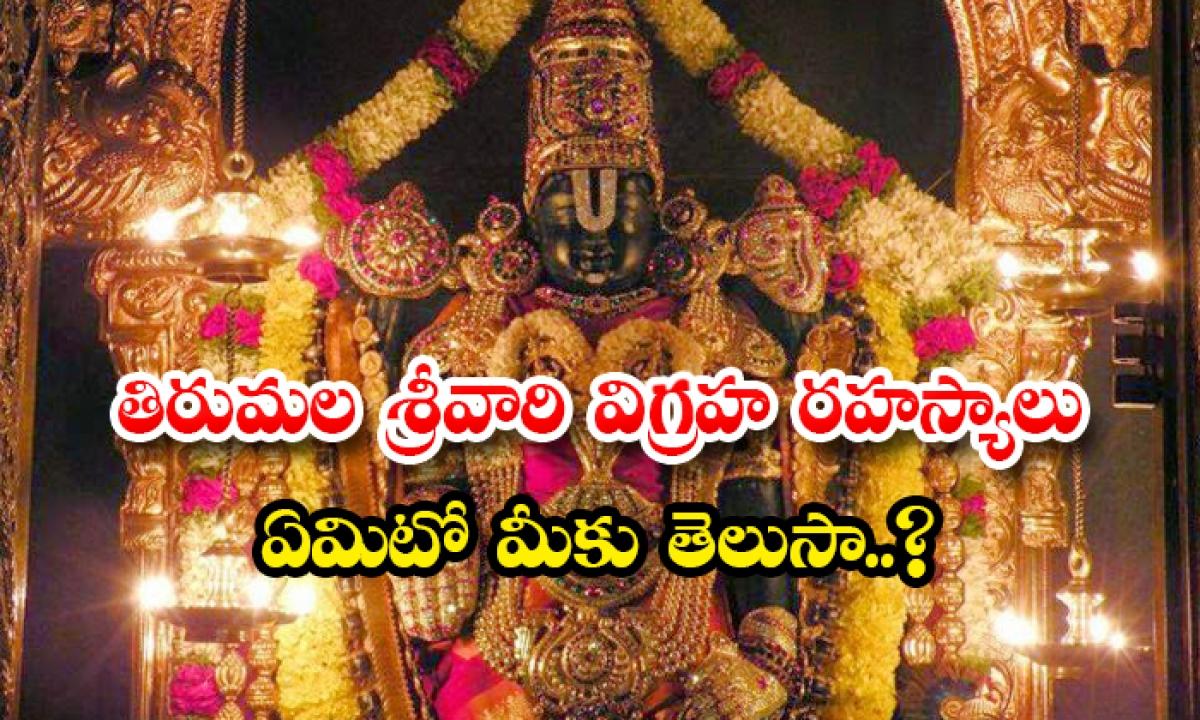 Secrets Of Thirumala Srivari Statue-TeluguStop.com